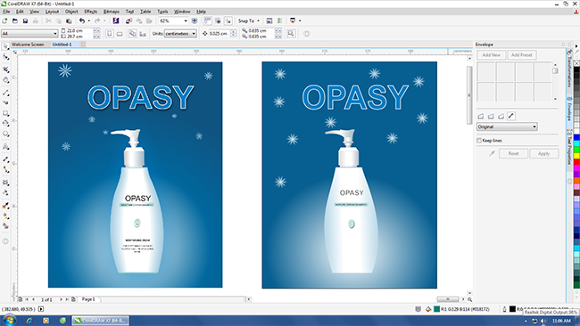 day coreldraw